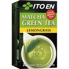 An ITO EN exclusive blend of matcha, Japan's celebrated green tea powder, sencha (, and ginger offers the tangy flavor of ginger balanced with the fresh taste of green tea. Natural with no added color or flavorings, Matcha G Organic Matcha Green Tea, Matcha Green Tea Latte, Matcha Green Tea Powder, Ginger Tea Bags, Green Tea Plant, Green Tea Benefits, Japanese Tea Ceremony, Tea Infuser, Lemon Grass
