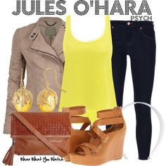 Inspired by Maggie Lawson as Juliet O'Hara on Psych.