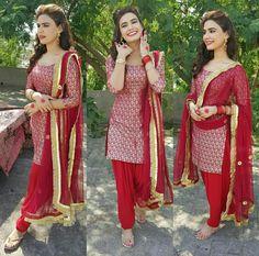 Kiran haq Punjabi Wedding Suit, Pakistani Wedding Outfits, Pakistani Dresses, Wedding Suits, Indian Dresses, Indian Outfits, Pakistani Clothing, Simple Dresses, Nice Dresses