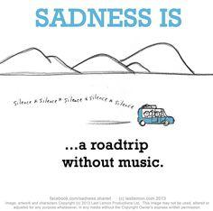 #sadness is