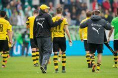 Bilder der Partie Wolfsburg gegen Dortmund.