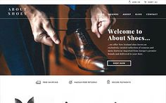 We designed this website design for About Shoes. Little Giant is a not-so-little digital agency, we specialise in websites, branding