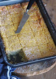 Cottage cheese-kake med mandler - Sukkerfri Hverdag