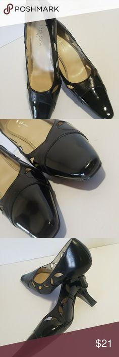 I just added this listing on Poshmark: Liz Claiborne Flex Heels Black Patent Leather 7M. #shopmycloset #poshmark #fashion #shopping #style #forsale #Liz Claiborne Flex #Shoes