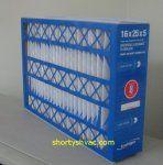 Box of 2 Indigo Air Bear Replacement Filters 20 X 25 X 5