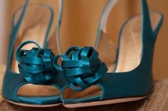Teal shoes via katespade