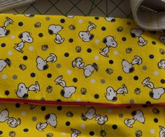 Tote Bag//Snoopy Bag//Snoopy Purse//Messenger Bag//Foldover Tote//SAMPLE SALE by PrettyPuppiesbyJ on Etsy