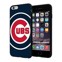 "MLB Chicago Cubs Baseball,Cool iPhone 6 Plus (6+ , 5.5"") Smartphone Case Cover Collector iphone TPU Rubber Case Black [By NasaCover] NasaCover http://www.amazon.com/dp/B012BCH0ES/ref=cm_sw_r_pi_dp_2IkXvb0T7T3XY"