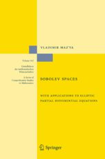 Sobolev Spaces - with Applications to Elliptic Partial | Vladimir Maz'ya | Springer