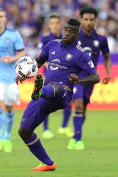 adidas 2015 MLS Capitano Orlando City SC Soccer Ball White// Purple Gold