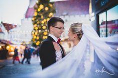 Pulmapildid Tallinna Vanalinnas | pulmad aastavahetusel | pulmafotograaf Maaris Puust, MK Foto  Wedding photos in Tallinn Old Town, photographer Maaris Puust
