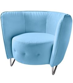 Ein außergewöhnliches Möbelstück: Der moderne Sessel von INOSIGN präsentiert sich in trendigem Design. Die halbkreisförmige Rückenlehne verleiht dem Polstersessel seinen unverwechselbaren Look.