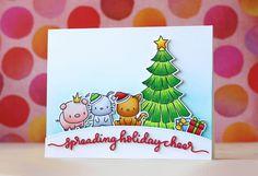 Mama Elephant-Lunar Animals Doublestick Heaven by laurafadora | spreading holiday cheer