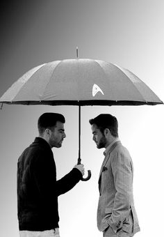Zachary Quinto and Chris Pine ¦¦ Star Trek Premiere, Moscow