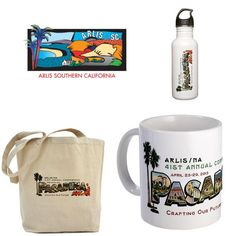 These items will be on display at the conference registration desk during the conference and will be included in the silent auction at the end of the conference. Donated by the Southern California Chapter.