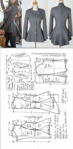 Amazing Sewing Patterns Clone Your Clothes Ideas. Enchanting Sewing Patterns Clone Your Clothes Ideas. Diy Clothing, Sewing Clothes, Clothing Patterns, Dress Patterns, Sewing Patterns, Sewing Shirts, Coat Patterns, Clothing Websites, Women's Clothes