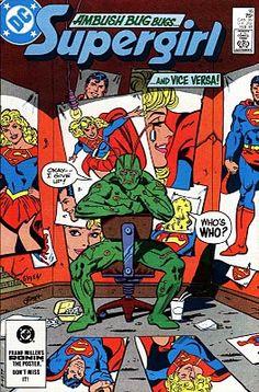 "Supergirl Vol 2 #16: ""Bug-Out!"" (Guest starring Ambush Bug)"