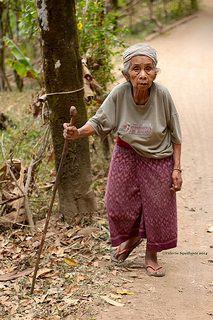 The long walk ahead . Bali, Indonesia