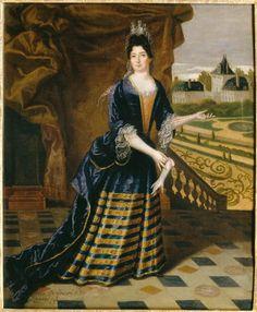 1695 Anne de Souvré, marquise de Louvois (1646-1715) by Simon Dequoy (Versailles)