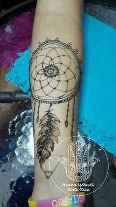 Henna Mehndi, Costa Rica, Dream Catcher, Tattoos, Henna Tattoos, Dreamcatchers, Tatuajes, Tattoo, Tattos