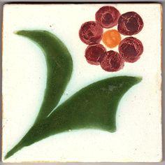 Sant Anna on bottom and sponsor stamp. Portuguese Tiles, Floral Design, Anna, Ebay, Lisbon Portugal, Tiles, Floral Patterns
