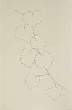 Ellsworth Kelly, Grape Leaves II (A. 95