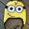 Minion Crochet Hat