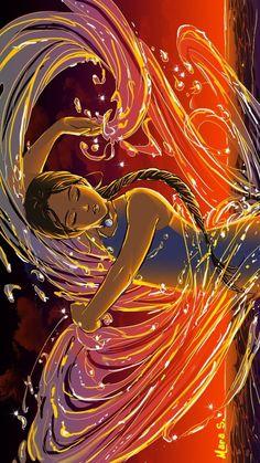avatar the last airbender Credit to the Creator Avatar Aang, Avatar Airbender, Zuko And Katara, Avatar Legend Of Aang, Team Avatar, The Legend Of Korra, Avatar Cartoon, Fan Art Avatar, Water Bending