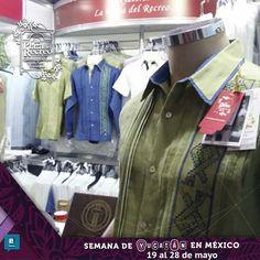 """Tenemos lo que estas buscando... Diversos modelo y tallas, bordados con diseños únicos y exclusivos con la mejor calidad. Te esperamos en nuestro STAND de La Plaza del Recreo en la """"Semana de Yucatán en México en el palacio de los deportes del viernes 19 al domingo 28 de mayo."""