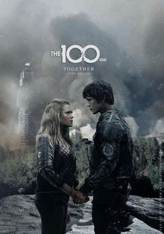 Bellamy Blake &Clarke Griffin | The 100 | Bellarke ❤