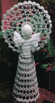 Maybe I can do this someday! It will be for my grand-kids to look just like I looked at our angel my grand mother made when I was a kid.    Free Crochet Heirloom Angel Pattern
