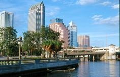 View of downtown Tampa