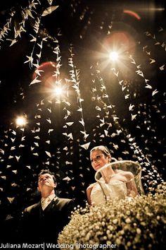 borboletas no casamento