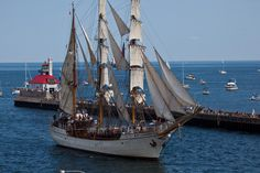 Barque EUROPA - Duluth Tall Ships Sailing Day, Sailing Ships, Tall Ships Festival, Breathe In The Air, Mi Photos, Shrimp Boat, Duluth Minnesota, Old Boats, Float Your Boat