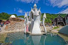 Habakuky - rozpravkova krajinka  krala Habakuka, Donovaly-Slovakia