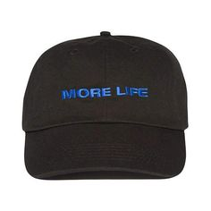 1b253a2c02647 MORE LIFE Hat Beige Aubrey Drake Graham Latest Album No Structure Women and  Men Dad Hat