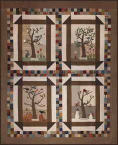 4 Seasons quilt / wall hanging
