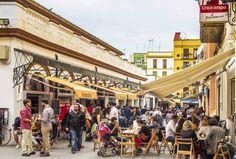 Marché couvert Feria à Séville