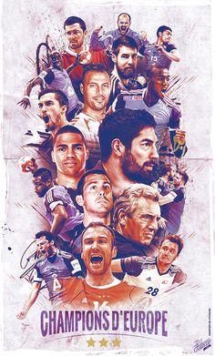 EUROPEAN CHAMPIONS - HANDBALL on Behance