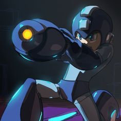 My 5yr old is OBSESSED with Mega Man! You'd think he was born in the 80s/90s!