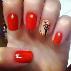 50 Amazing Fall Nail Designs for 2014 | Nail Design Ideaz