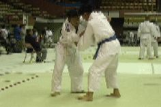 Takedown: Osoto Otoshi -- Large Inner Reversal