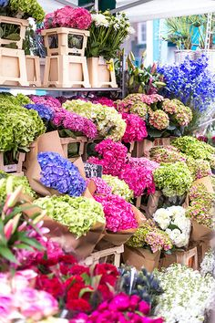 Columbia Road Flower Market is definitely on my list of must sees it's gorgeous & who wouldn't want to walk around and smell the sweet aroma of thousands of gorgeous flowers