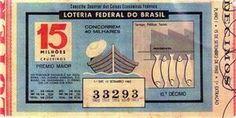 O primeiro bilhete do ano de 1962, com prêmio máximo de 15 milhões de cruzeiros, realizado em 15 de setembro de 1962, no Rio de Janeiro foi o primeiro bilhete de Loteria Federal do Brasil operado pelo Conselho Superior das Caixas Econômicas Federais
