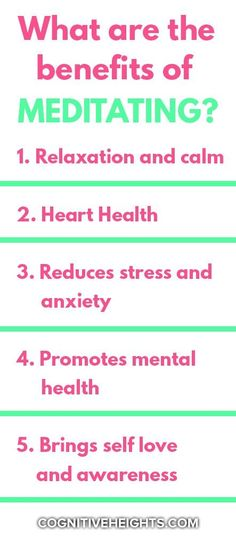 We have all heard of meditation. Why do so many people keep practicing meditation and even swear by it? What are the benefits of meditation? Meditation Meaning, Types Of Meditation, Meditation Benefits, Mental Health Activities, Good Mental Health, Get Rid Of Anxiety, Stress And Anxiety, Mindfulness Practice, Emotional Development