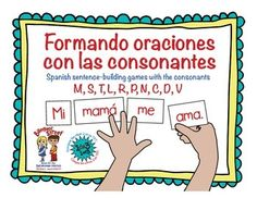 You'll absolutely love to see your students reading and building sentences with these word cards and sentence key cards. These games can be used during your Daily Five time, as one-to-one intervention tool, during literacy stations, or during Bilingual Learning Centers if you are following a dual language program.