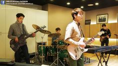 CNBLUE members practicing for their comeback show~ 'Can't Stop' to be aired on 14.3.02