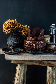 Beschwipster Chocolate Birthday Cake, Drink mit Baileys, Drink mit Schokolade, Backen mit Rum, Rumlikör, Rumkugeln selber machen