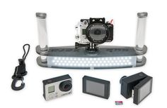 Sub Zero GoPro Underwater Camera Rig and the Backscatter FLIP3.1: