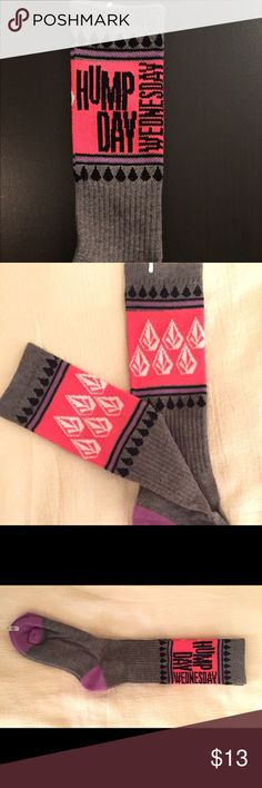 ❤️VOLCOM Full Stone DAYS OF THE WEEK Socks❤️ ❤️VOLCOM Full Stone DAYS OF THE WEEK Socks❤️ 
